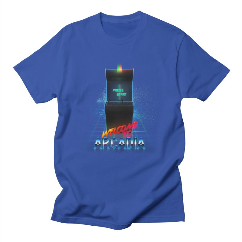 Arcadia Women's Regular Unisex T-Shirt by 80's Pixels's Shop