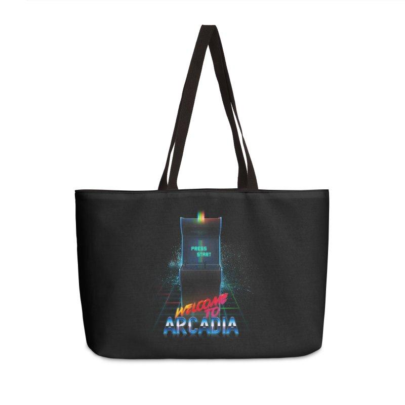Arcadia Accessories Weekender Bag Bag by 80's Pixels's Shop