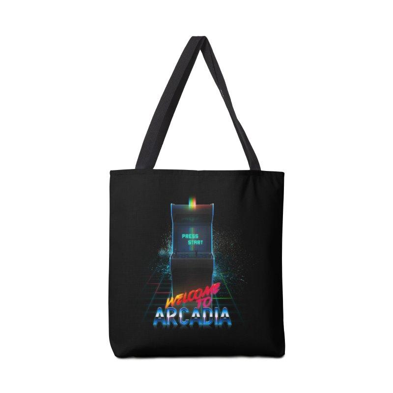 Arcadia Accessories Tote Bag Bag by 80's Pixels's Shop