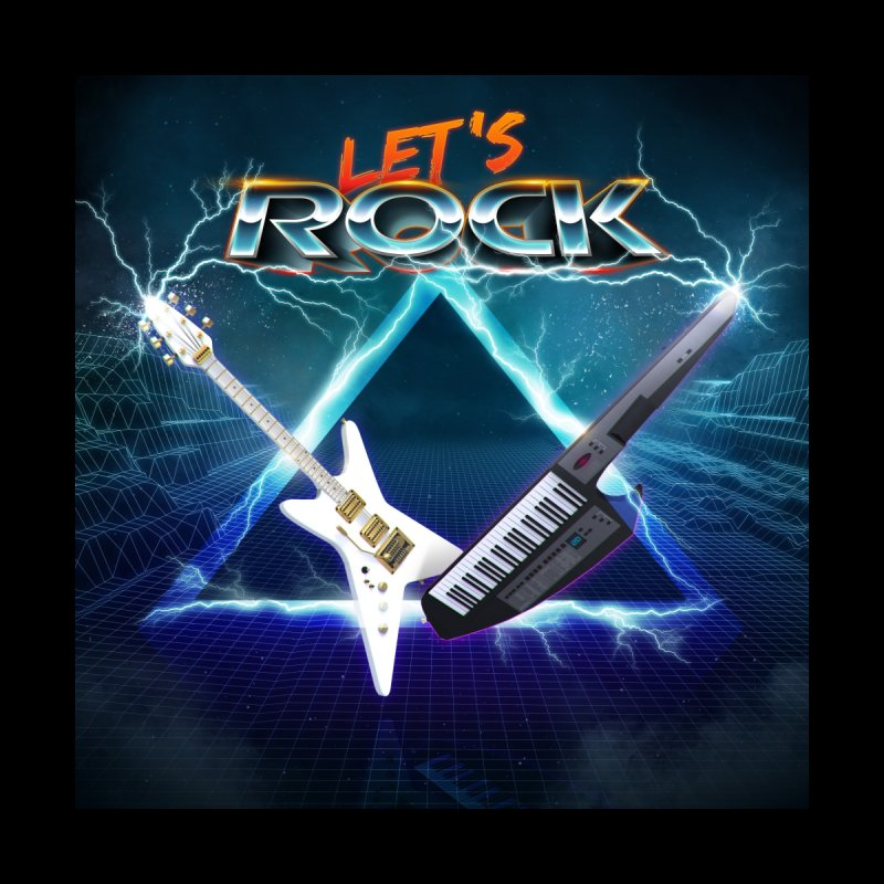 Let's Rock   by 80's Pixels's Shop