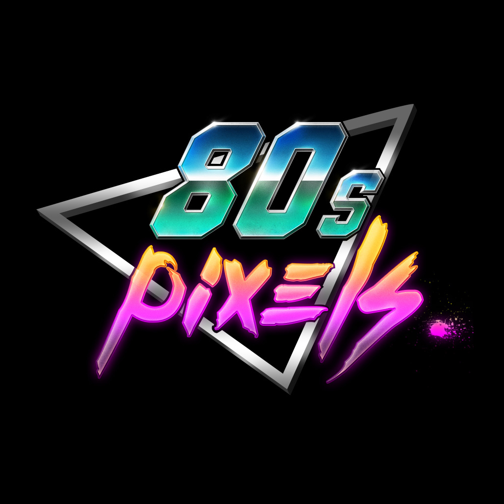 80's Pixels's Shop Logo