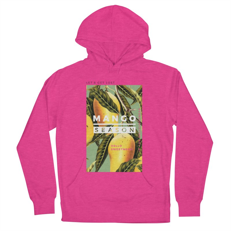 Mango Season Women's French Terry Pullover Hoody by 83oranges