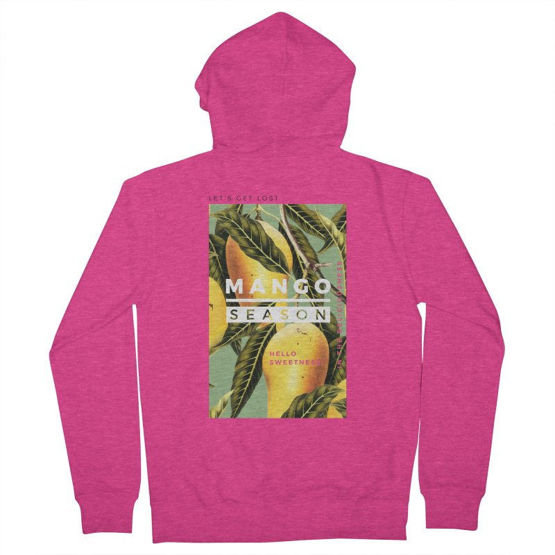 Mango Season Women's Zip-Up Hoody by 83oranges