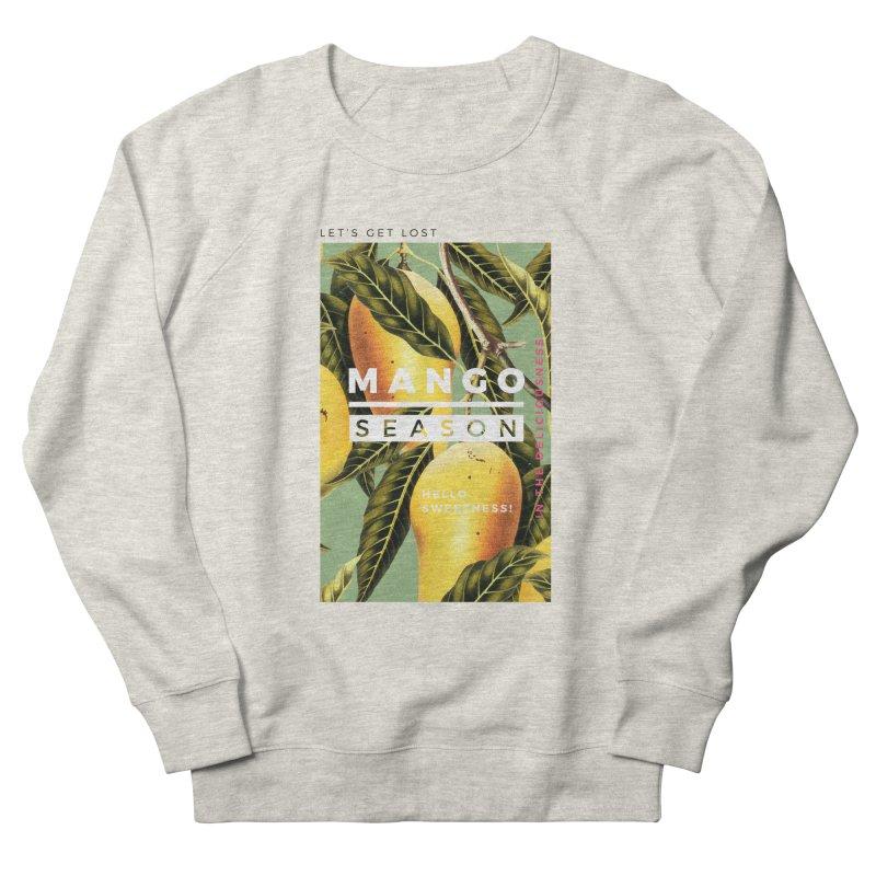 Mango Season Men's French Terry Sweatshirt by 83oranges