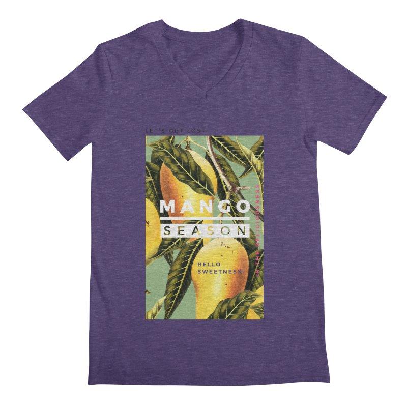 Mango Season Men's V-Neck by 83oranges