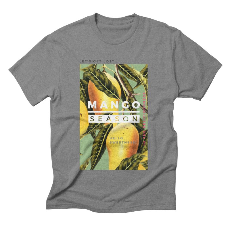 Mango Season Men's Triblend T-shirt by 83oranges
