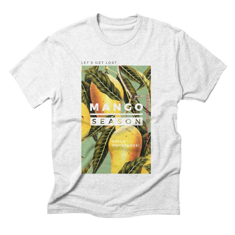 Mango Season Men's Triblend T-shirt by 83oranges