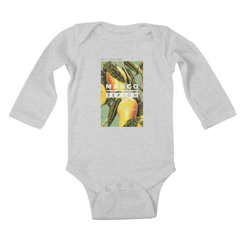 Mango Season Kids Baby Longsleeve Bodysuit by 83oranges