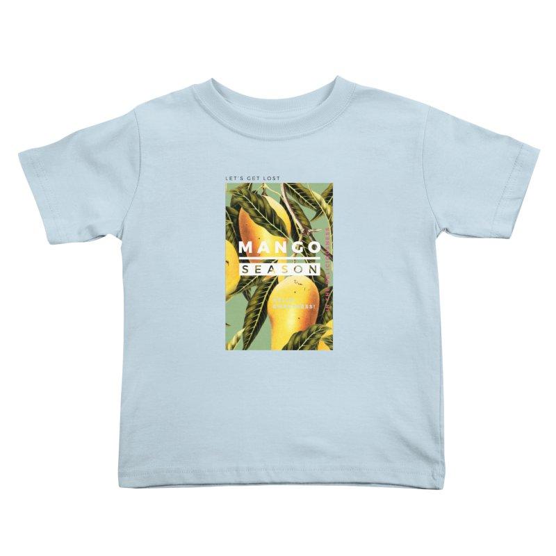 Mango Season Kids Toddler T-Shirt by 83oranges