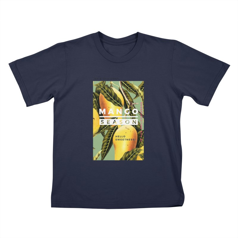 Mango Season Kids T-shirt by 83oranges
