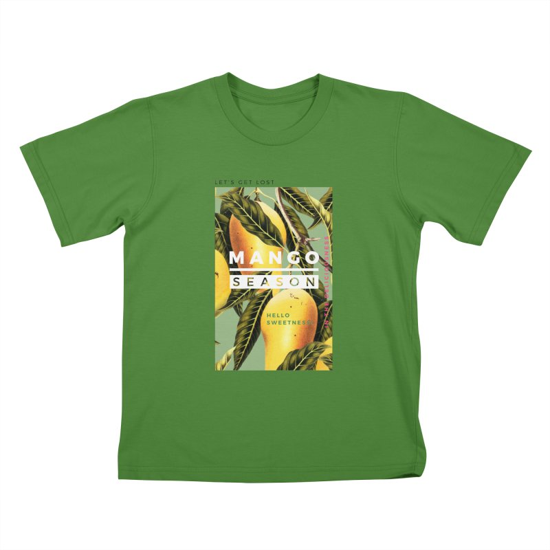 Mango Season Kids T-Shirt by 83oranges