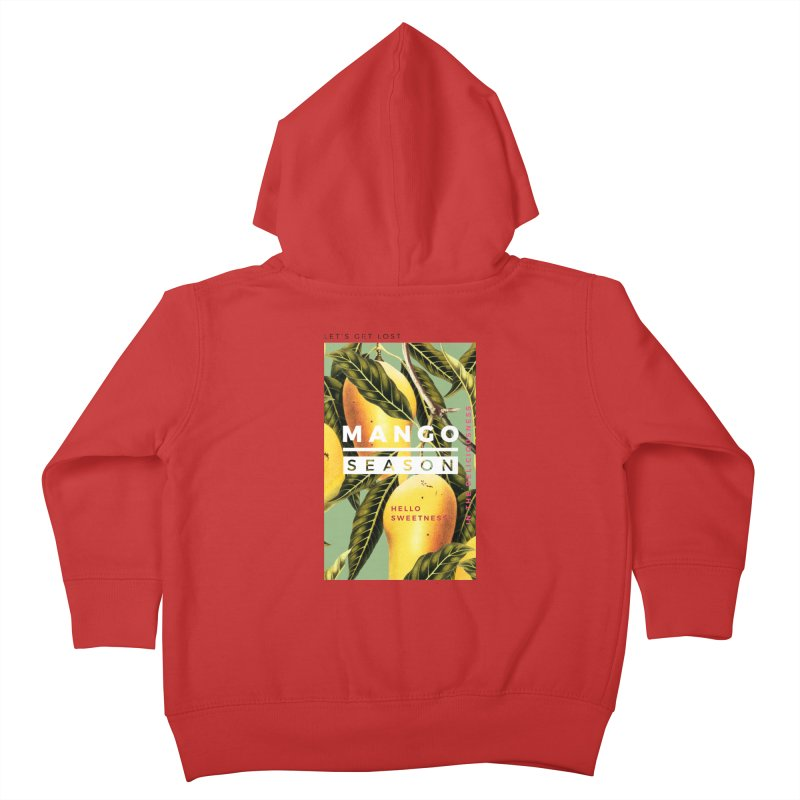 Mango Season Kids Toddler Zip-Up Hoody by 83oranges