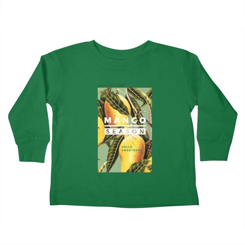 Mango Season Kids Toddler Longsleeve T-Shirt by 83oranges