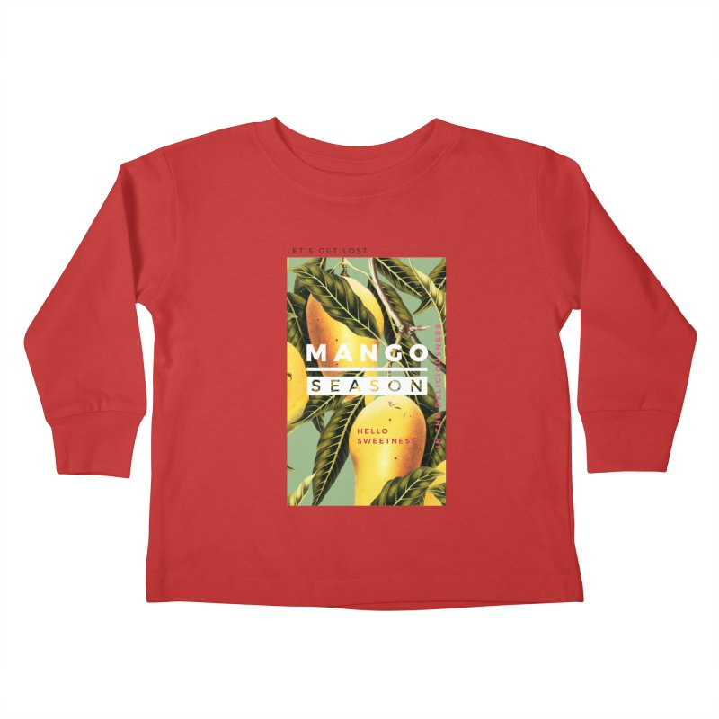 Mango Season Kids Toddler Longsleeve T-Shirt by 83oranges