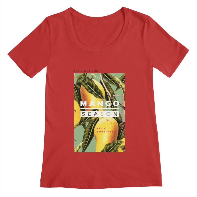 Mango Season Women's Scoopneck by 83oranges