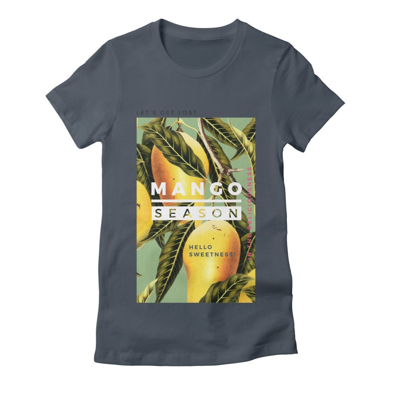 Mango Season Women's Fitted T-Shirt by 83oranges