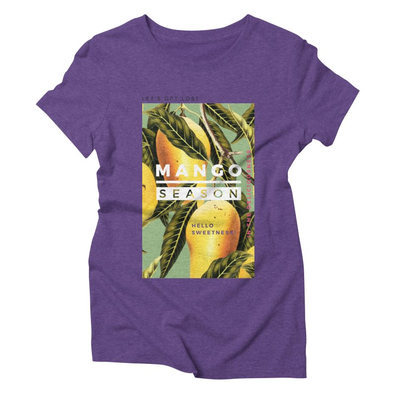 Mango Season Women's Triblend T-shirt by 83oranges