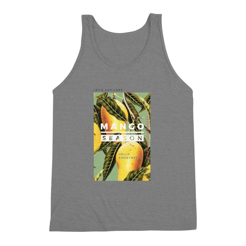 Mango Season Men's Triblend Tank by 83oranges