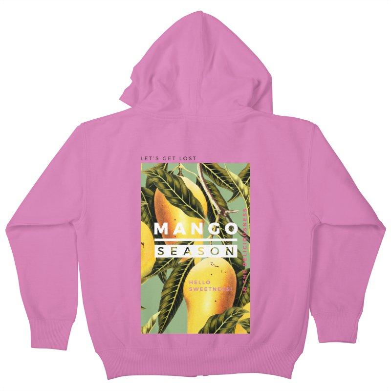 Mango Season Kids Zip-Up Hoody by 83oranges