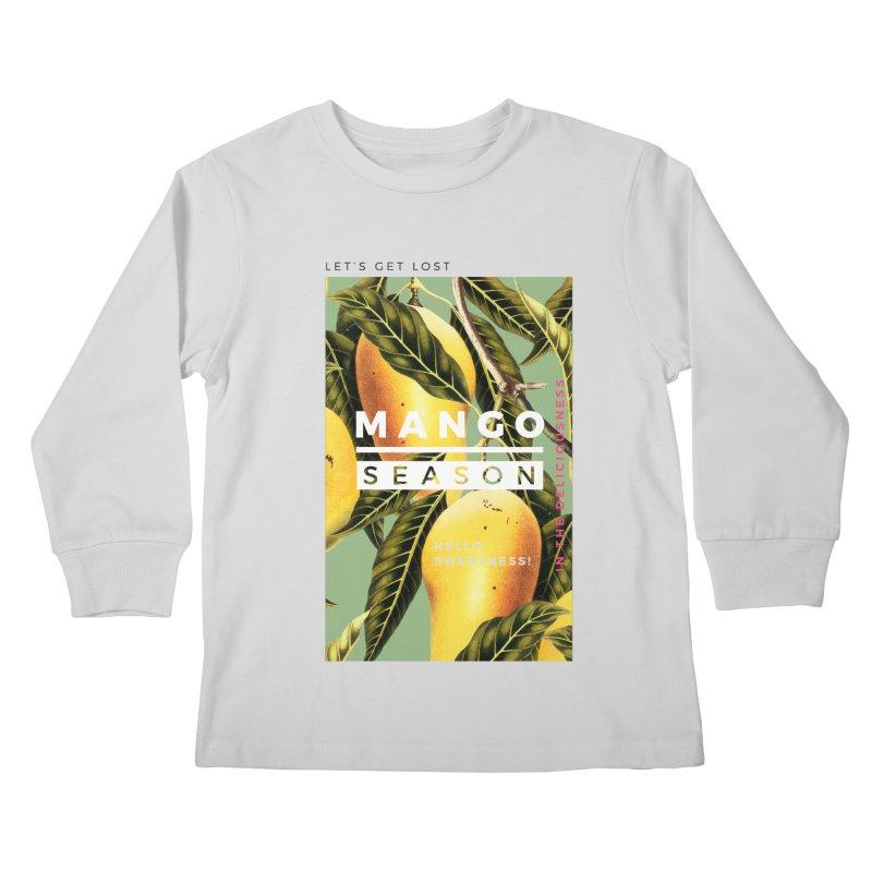 Mango Season Kids Longsleeve T-Shirt by 83oranges