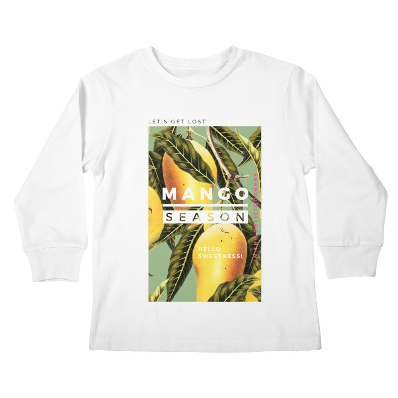 Mango Season Kids Longsleeve T-Shirt by 83oranges