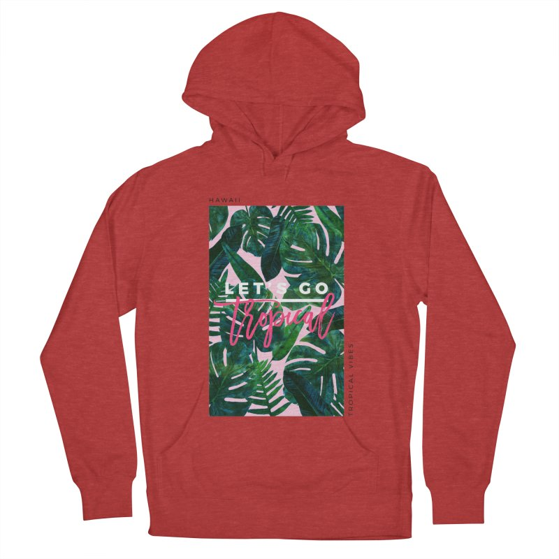 Let's Go Tropical Men's Pullover Hoody by 83oranges