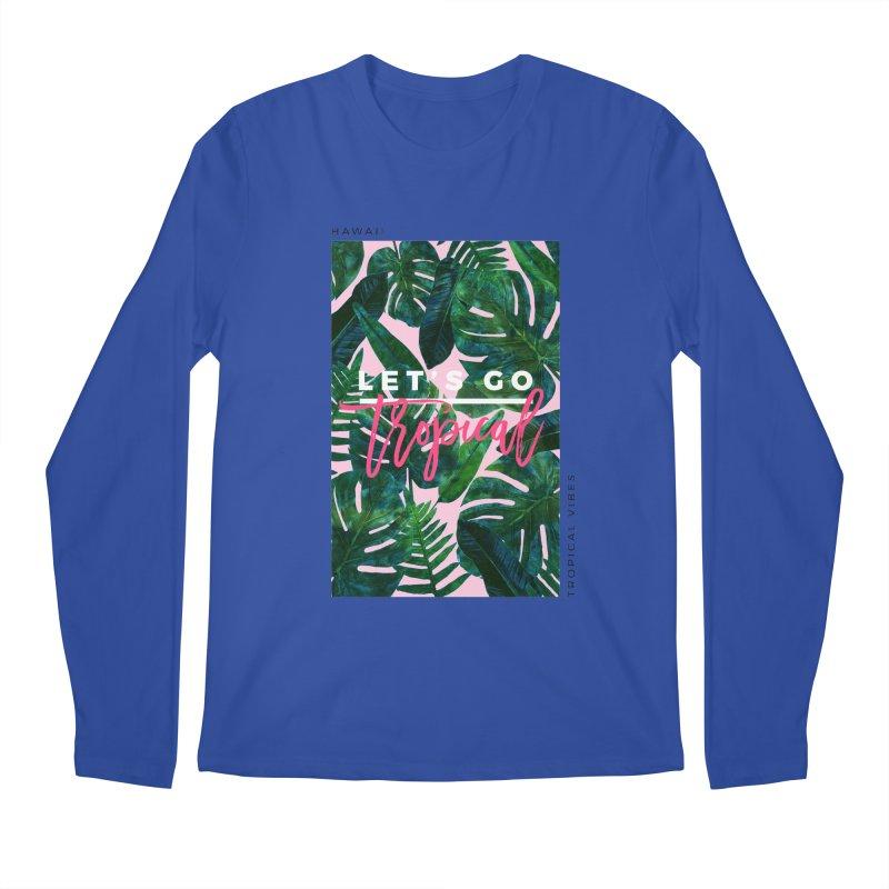 Let's Go Tropical Men's Longsleeve T-Shirt by 83oranges