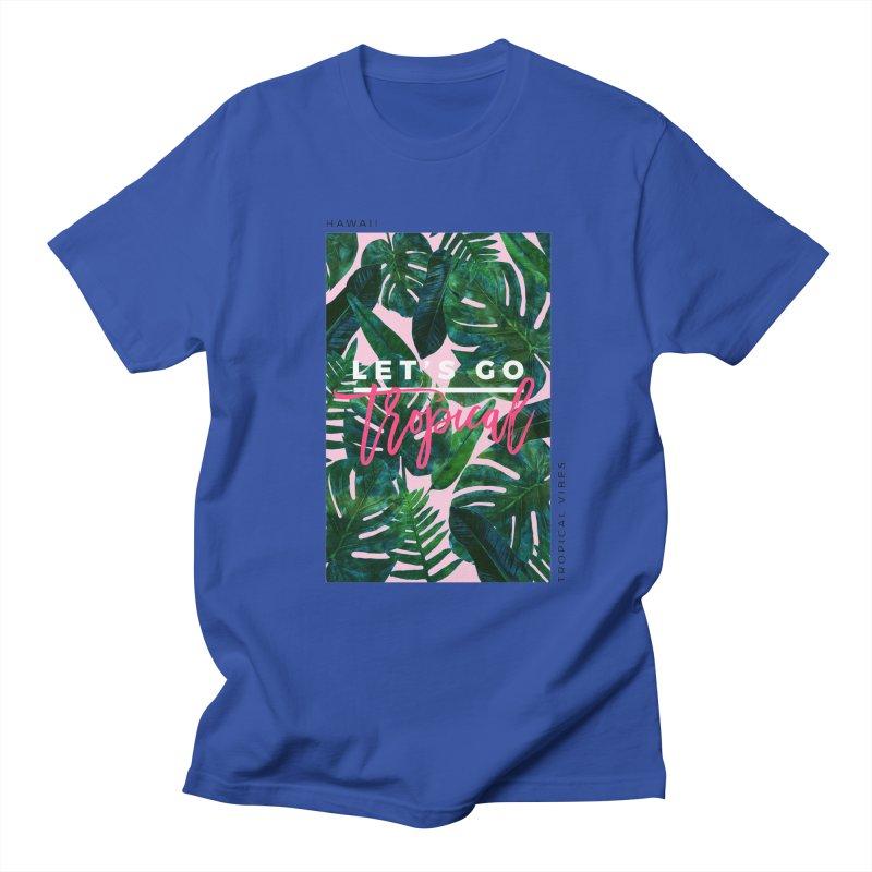 Let's Go Tropical Women's Unisex T-Shirt by 83oranges