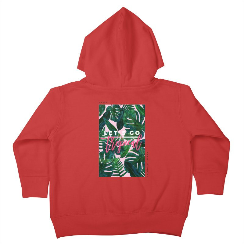 Let's Go Tropical Kids Toddler Zip-Up Hoody by 83oranges