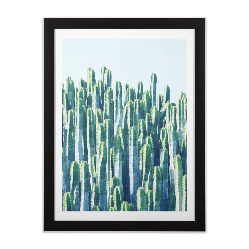 Cactus V2 Home Framed Fine Art Print by 83oranges