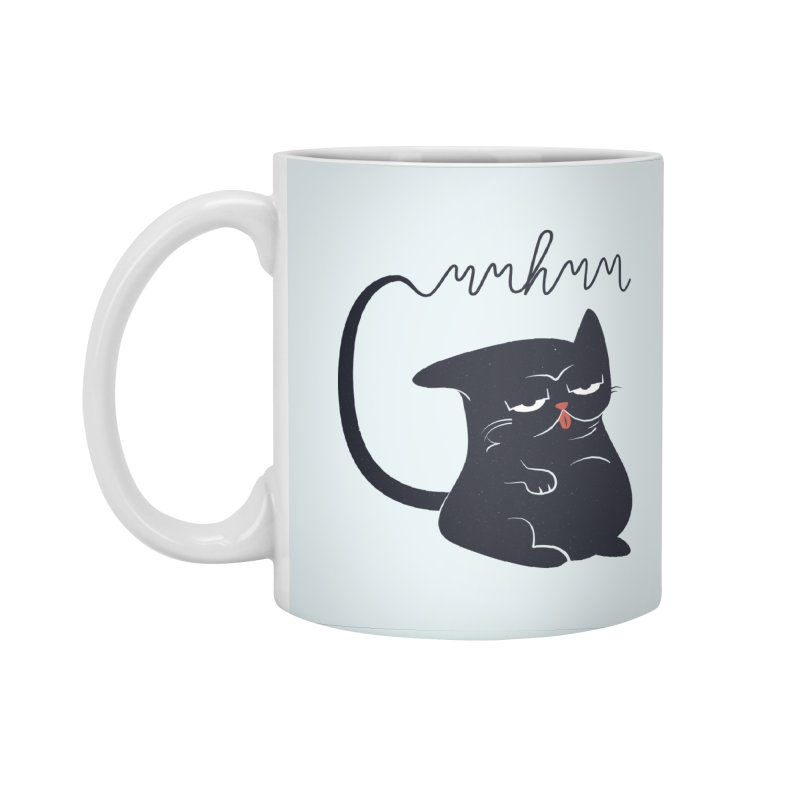 Gritty Kitty Mmhmm Accessories Standard Mug by 84collective