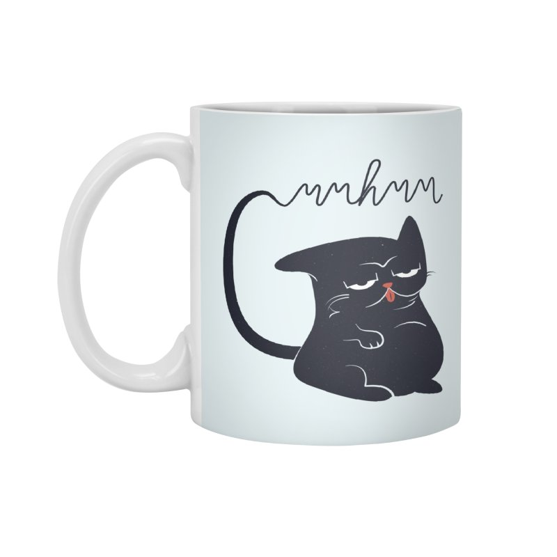 Gritty Kitty Mmhmm Accessories Mug by 84collective