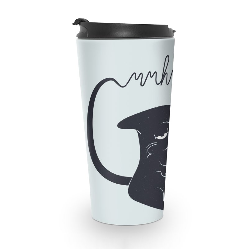 Gritty Kitty Mmhmm Accessories Travel Mug by 84collective