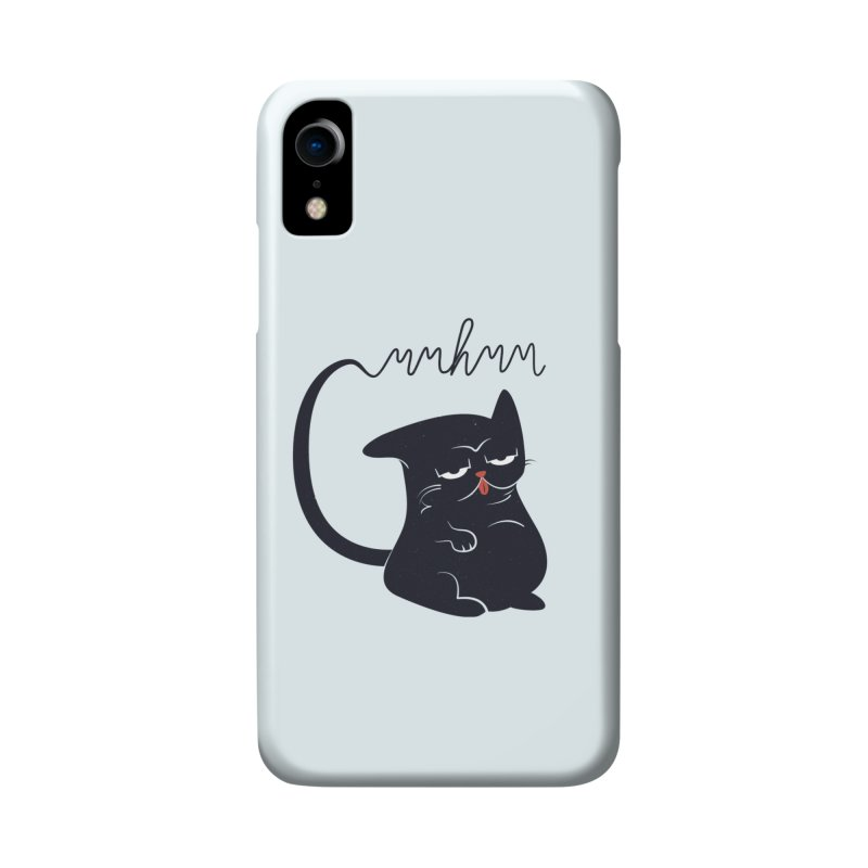 Gritty Kitty Mmhmm Accessories Phone Case by 84collective