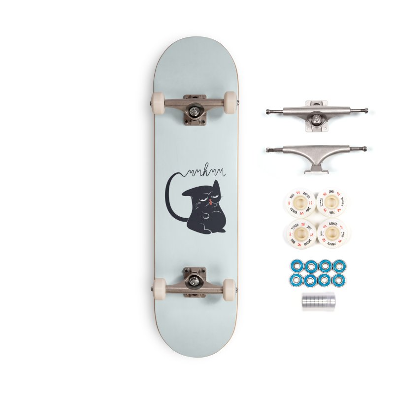 Gritty Kitty Mmhmm Accessories Skateboard by 84collective