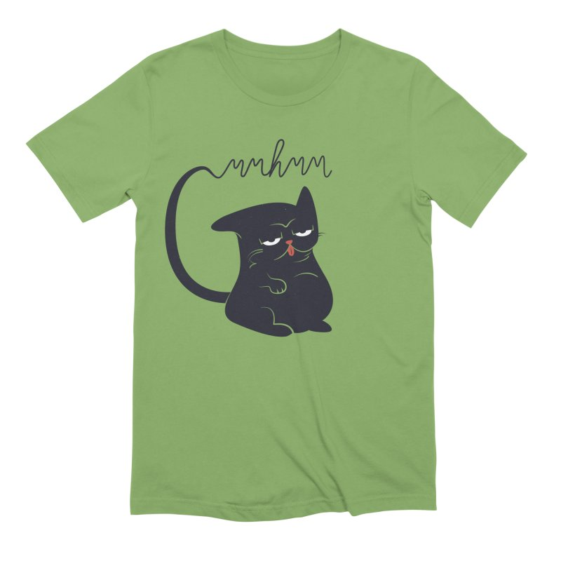 Gritty Kitty Mmhmm Men's Extra Soft T-Shirt by 84collective