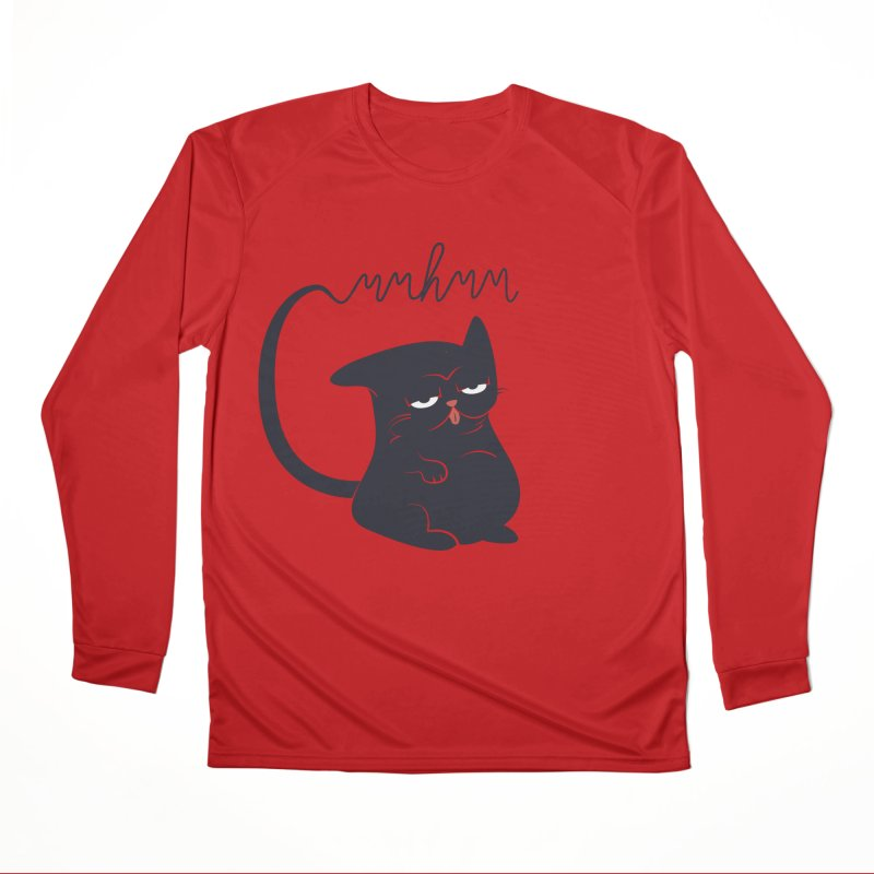 Gritty Kitty Mmhmm Men's Performance Longsleeve T-Shirt by 84collective