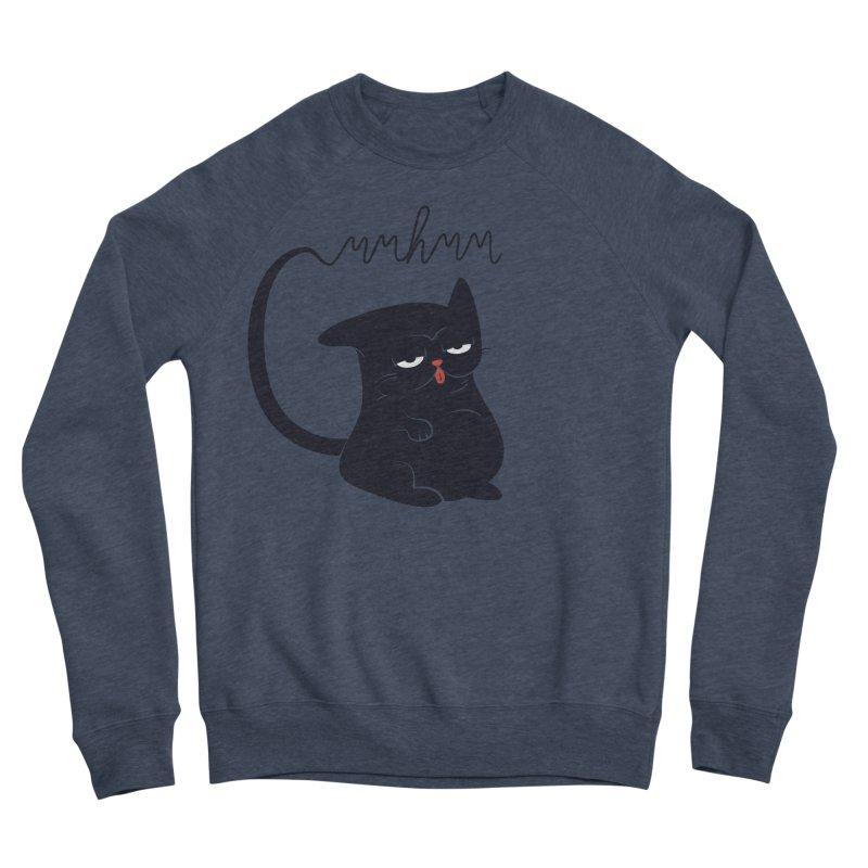 Gritty Kitty Mmhmm Women's Sponge Fleece Sweatshirt by 84collective