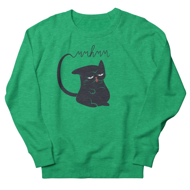Gritty Kitty Mmhmm Men's French Terry Sweatshirt by 84collective