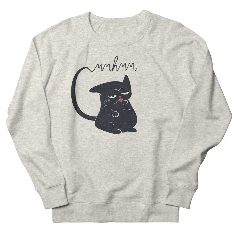 Gritty Kitty Mmhmm Men's Sweatshirt by 84collective