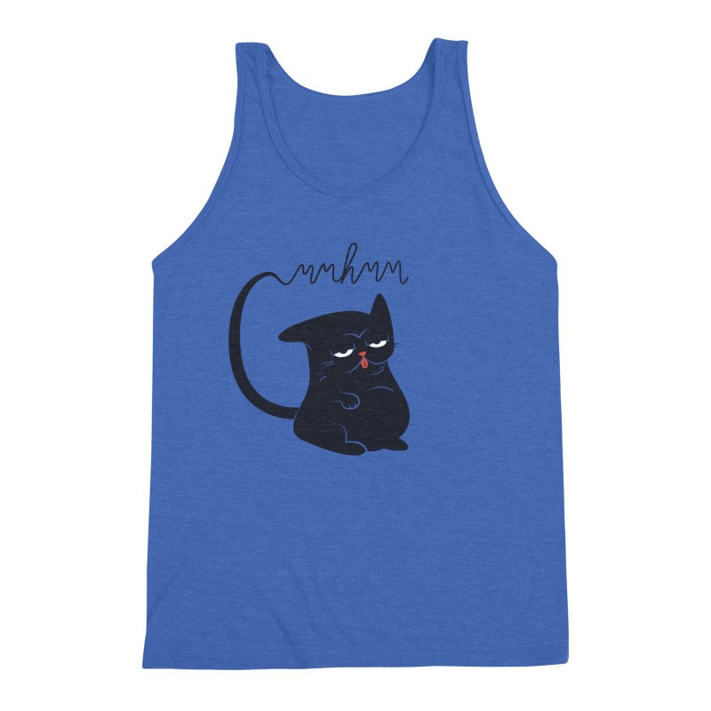 Gritty Kitty Mmhmm Men's Tank by 84collective