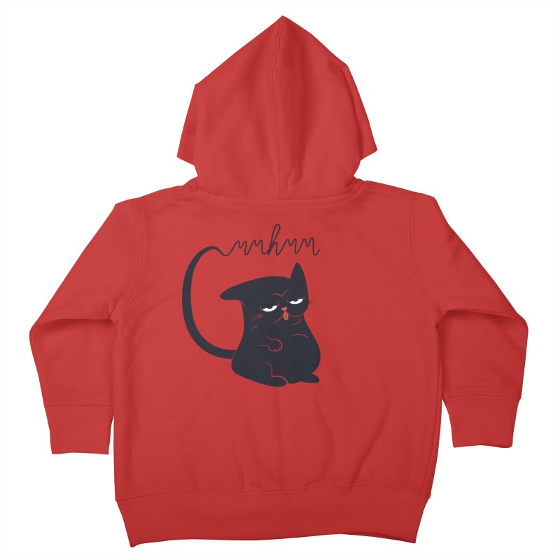 Gritty Kitty Mmhmm Kids Toddler Zip-Up Hoody by 84collective
