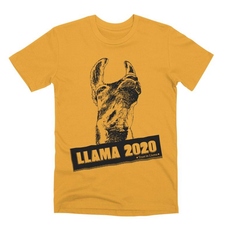 Trust in Llama 2020 Men's Premium T-Shirt by 84collective