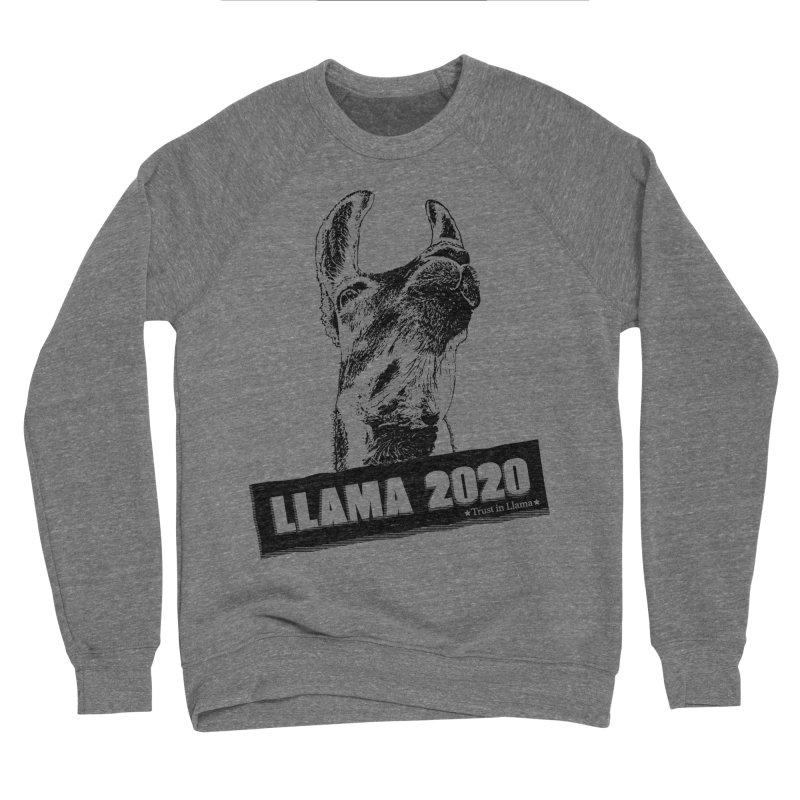 Trust in Llama 2020 Women's Sponge Fleece Sweatshirt by 84collective