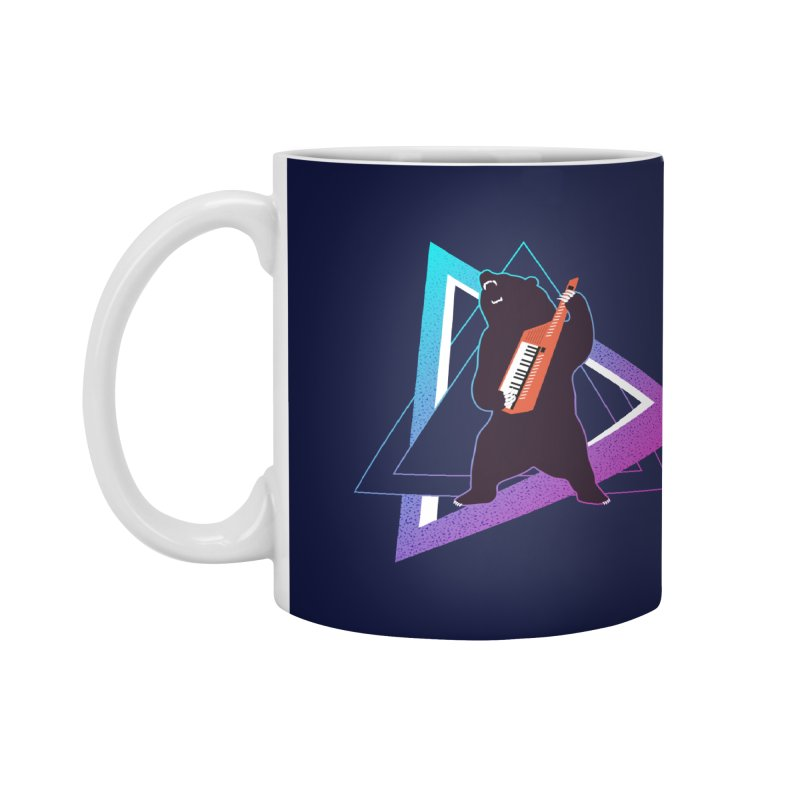 The Growling Keytarist (Grizzly Bear Music) Accessories Mug by 84collective
