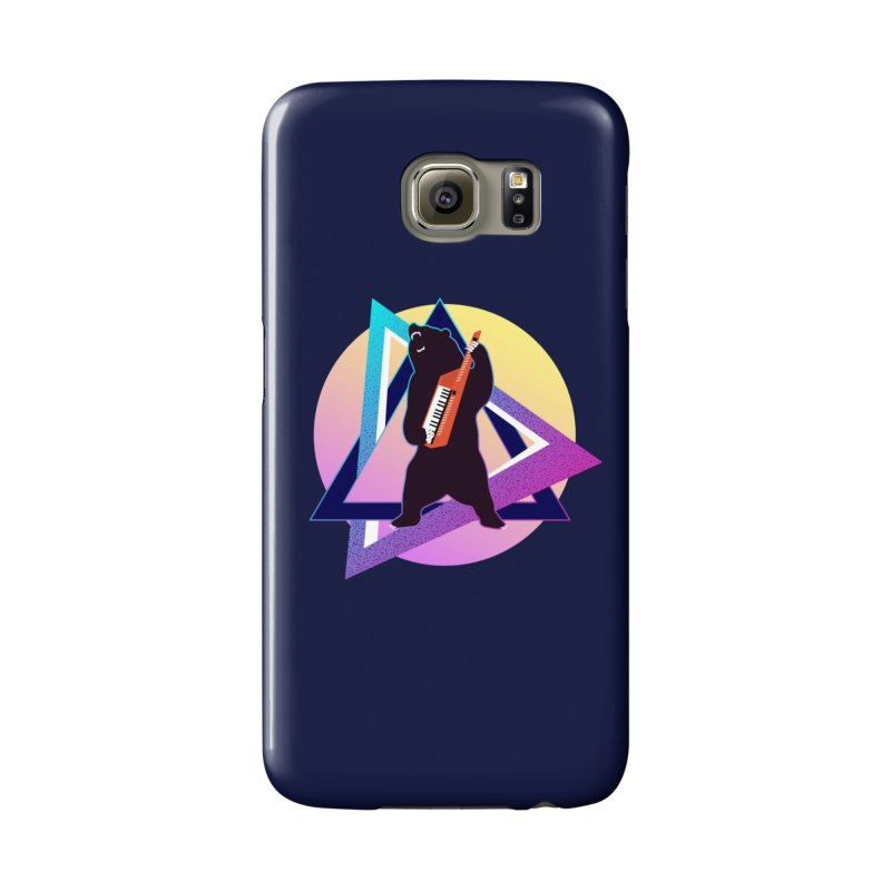 The Growling Keytarist (Grizzly Bear Music) Accessories Phone Case by 84collective