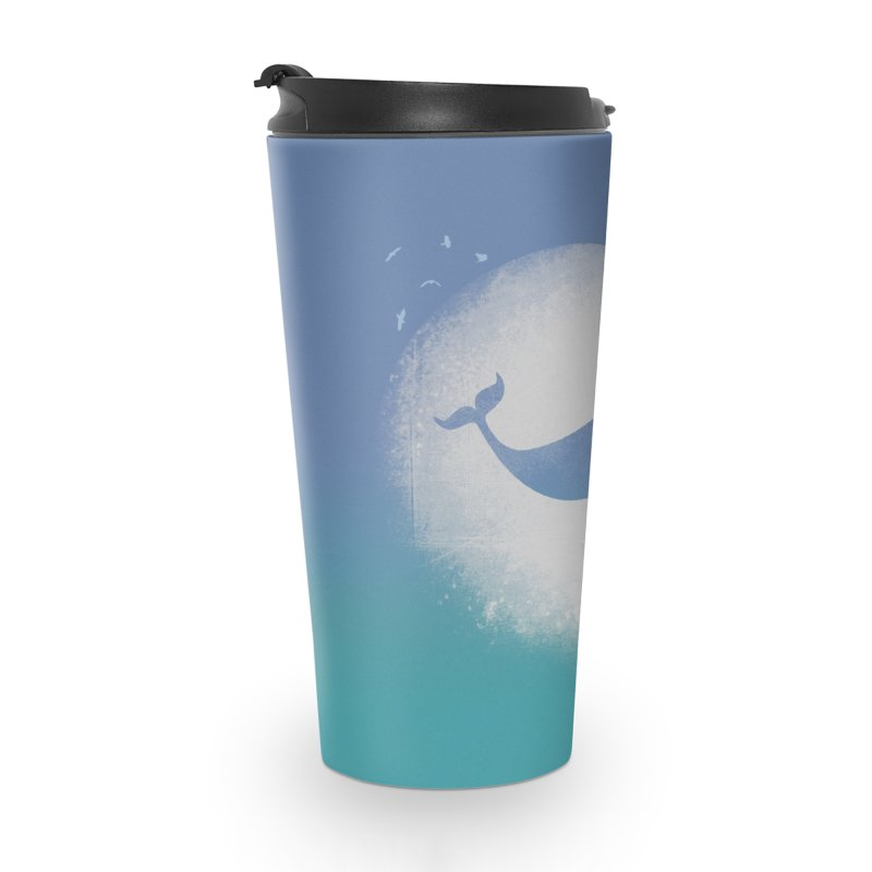 CaterNarwhal at the Moon Accessories Mug by 84collective