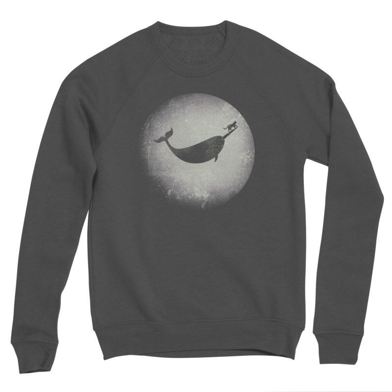 CaterNarwhal at the Moon Women's Sponge Fleece Sweatshirt by 84collective
