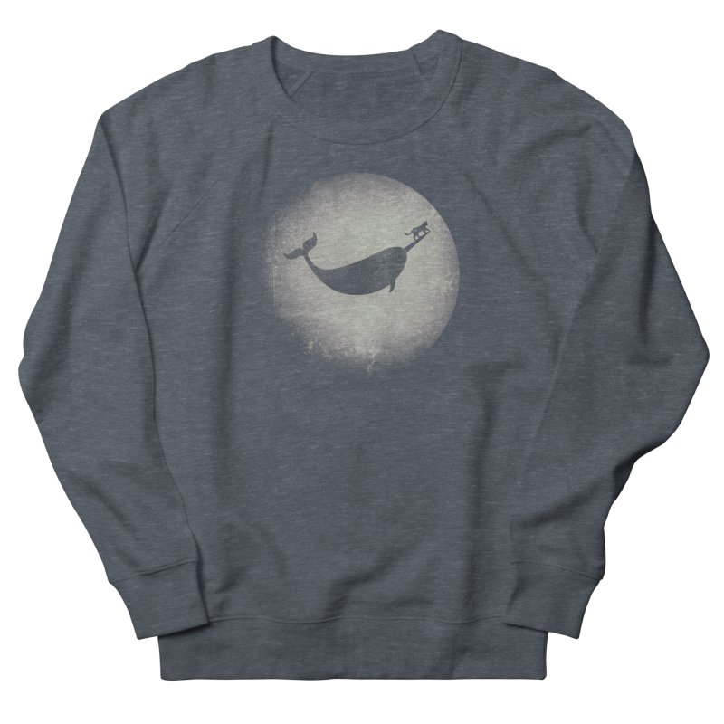 CaterNarwhal at the Moon Men's Sweatshirt by 84collective
