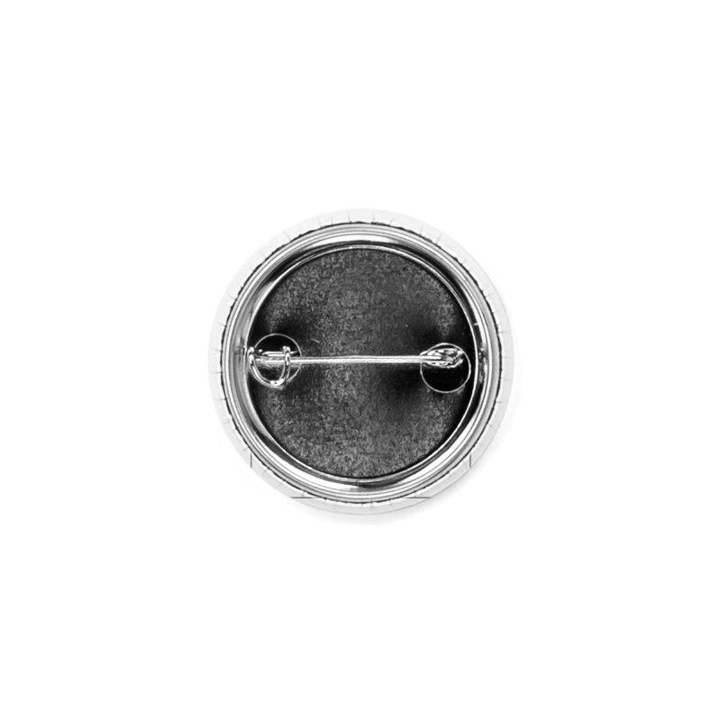 Vitruvian Spaceman (Dark Ink) Accessories Button by 84collective
